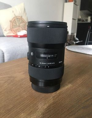 Canon EF Sigma ART Lens 1.8 Almost New for Sale in Henrico, VA