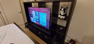 TV Entertainment Center With Storage Boxes for Sale in Lowell, MA