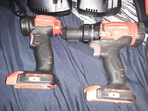Craftsman drill and light for Sale in Montandon, PA