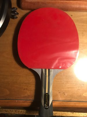 Stiga Raptor table tennis racket w/case for Sale in Fontana, CA