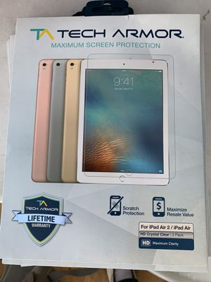 HD Clear Screen Protector for Apple iPad Air 2 / iPad Air (1st generation) [2-Pack] for Sale in Lakewood, CA