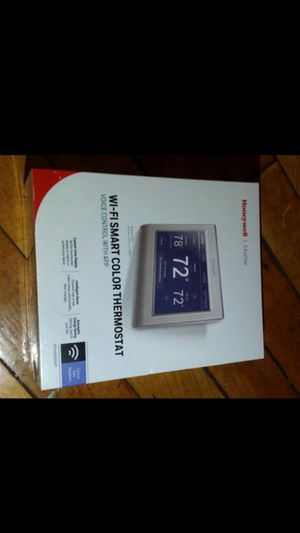 Honeywell WiFi smart color thermostat for Sale in Boston, MA