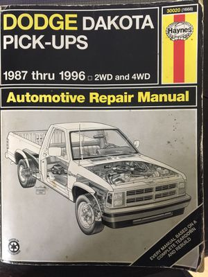 Dodge Dakota 87-96 Repair Manual - FREE if you pickup or pay postage. for Sale in Easton, MD