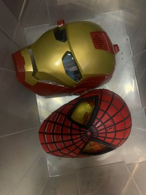 Iron man , Spider man , bumblebee for Sale in Perris, CA