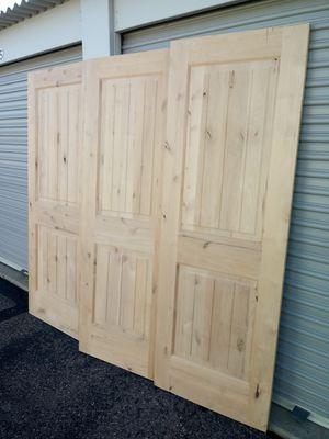 Barn doors solid wood 30x80 front doors interior doors for Sale in Phoenix, AZ