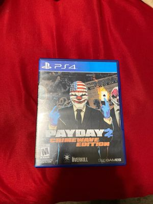 Payday2 crime wave edition for Sale in Bakersfield, CA