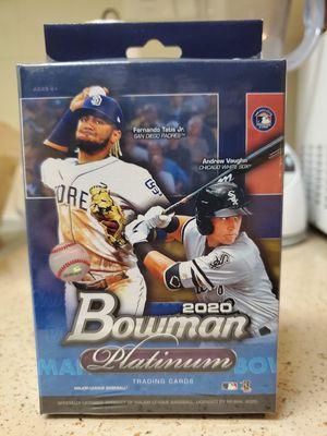 2020 Bowman Platinum Baseball Factory Sealed 24 Card Hanger Box! Luis Robert? for Sale in San Diego, CA