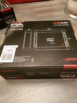 Polk audio pa d2000.2 amplifier for Sale in Roanoke, VA
