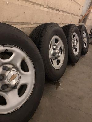 Chevy Set of wheels and tires for Sale in Fresno, CA