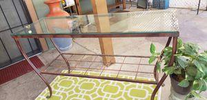 Beatiful glass TV table for Sale in Avondale, AZ