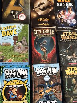 Star Wars Dog Man Books And More for Sale in San Diego,  CA