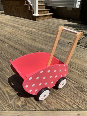 Janod Girls Baby Doll Walker Pram Stroller New for Sale in Hammonton, NJ