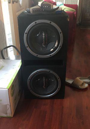 12s pioneers speakers for Sale in Oakland, CA
