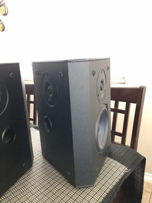 Polk Audio FX3001 Rear Surround Speakers for Sale in San Jacinto, CA