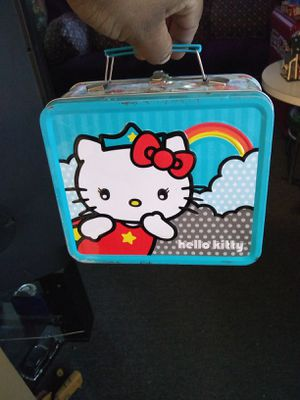 Hello Kitty lunch pail for Sale in Irwindale, CA