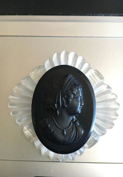 Antique Lucite Cameo Brooch for Sale in Hull,  MA