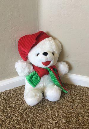 Christmas Bear Stuffed Animal for Sale in Surprise, AZ