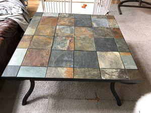 Slate Tile Coffee Table for Sale in Alexandria, VA