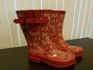 Western chief size 6 rain boots for Sale in Orlando, FL