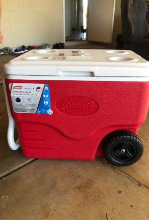 Coleman 49qt wheeled cooler for Sale in Glendale, AZ