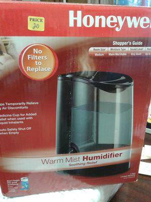 Honeywell Warm Mist Humidifier for Sale in Stockton, CA