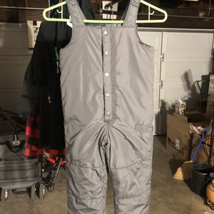 Old Navy 4T Gray Snow Bib Great Condition! for Sale in Whittier, CA