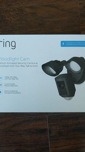 Ring Floodlight Camera for Sale in Riverside, CA