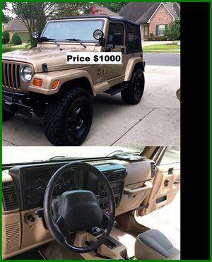 ֆ1OOO_1999 Jeep Wrengler for Sale in Anaheim, CA