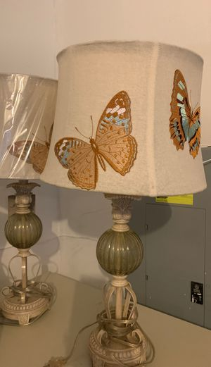 Lamps. Butterfly 2. for Sale in Fort Washington, MD