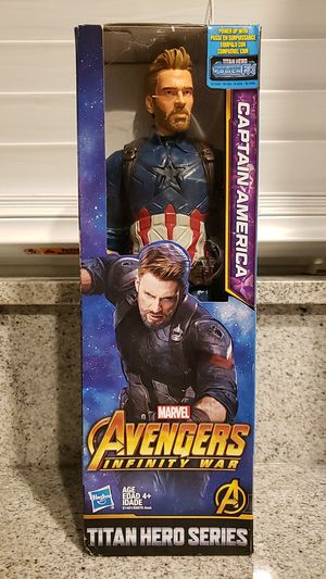 Hasbro Marvel Avengers Infinity War Titan Hero Series Captain America for Sale in Fort Lauderdale, FL