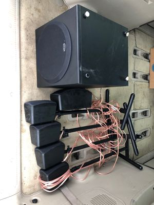 Polk Audio Home Theater Setup for Sale in Maryland Heights, MO