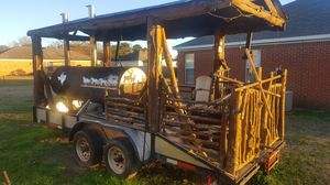Grill Smoker with Trailer for Sale in Canton, MS