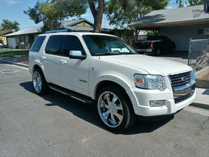 2007 FORD EXPLORER L....CLEAN TITLE...SMOGGED...LEATHER...SUNROOF...22S for Sale in Las Vegas, NV