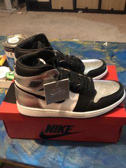 Silver Toe Jordan 1s for Sale in Carmel,  IN