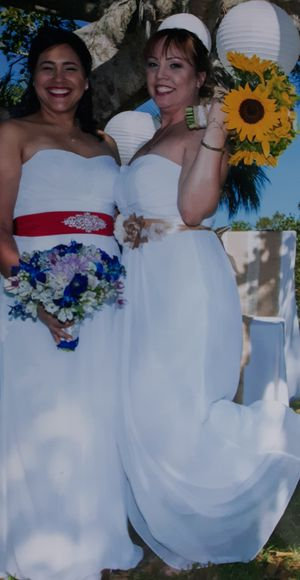 Bride goun or bridesmaid/vestido de novia o dama. for Sale in Miami, FL
