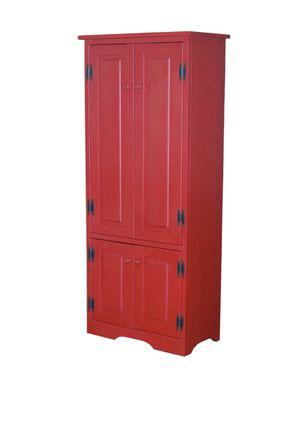 Red dresser for Sale in Rex, GA
