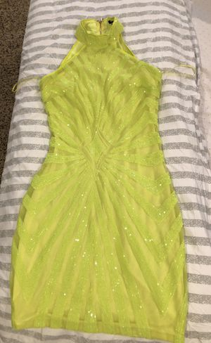 Neon Yellow Dress for Sale in Foxcroft Square, PA