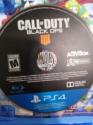 PS4 games kingdom hearts 3, last of us remastered and black ops 4 for Sale in Pomona, CA