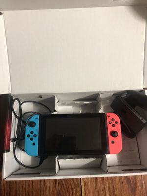 Nintendo switch ,HDMI cable ,+2 games for Sale in Marlboro Township, NJ