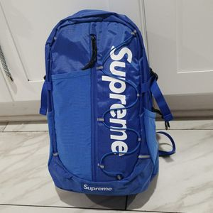 BRAND NEW SUPREME BLUE CLASSIC BACKPACK for Sale in El Monte, CA