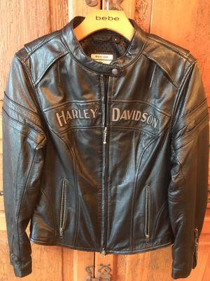 Ladies leather biker jacket Harley-Davidson - $300 for Sale in Morgantown, WV