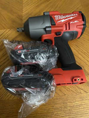 Milwaukee M18 FUEL Brushless High torque 4-Speed 1/2 in. Impact Wrench with Friction Ring & (2) Cp1.5ah Battery (Firm on Price) New for Sale in San Diego, CA