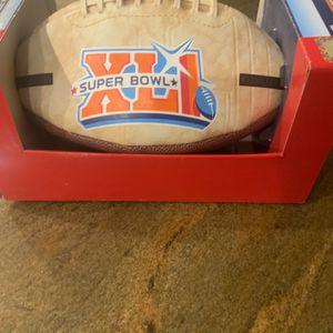 Collectible Super Bowl XL Football Collectors Item for Sale in Boynton Beach, FL