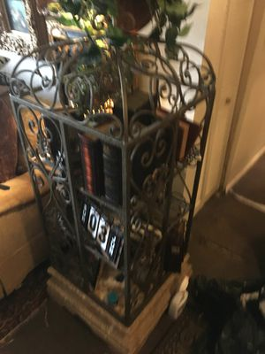 Raw iron bird cage for Sale in Tampa, FL