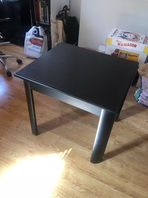 Wood end table (Black) for Sale in Jersey City, NJ