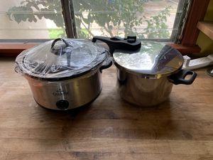 Crock pot/pressure cooker set for Sale in Los Angeles, CA