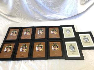 Nine 5x7 picture frames for Sale in Friendswood, TX