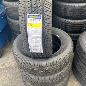 New Goodyear 195/60/15 $295 for Sale in Huntington Park, CA