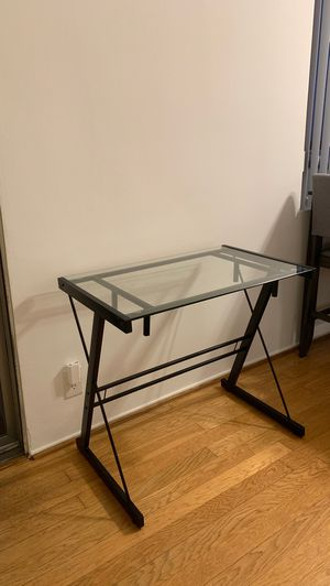 Small glass writing desk for Sale in Santa Monica, CA