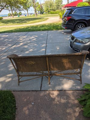Wicker couch for Sale in Hamburg, NY